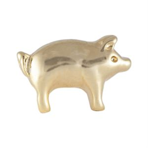 Picture of Gold Pig Charm